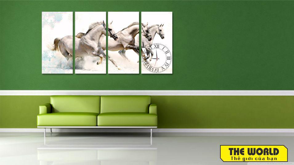 tranh đồng hồ tranh treo tường đẹp 3