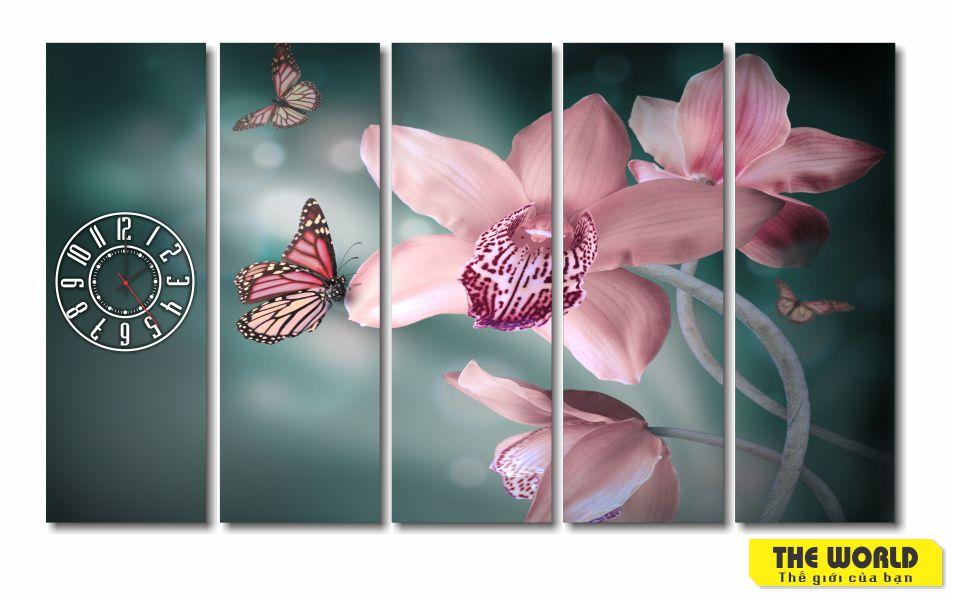 tranh treo tường hoa lan