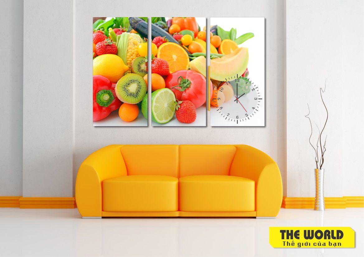 tranh treo tường thực phẩm